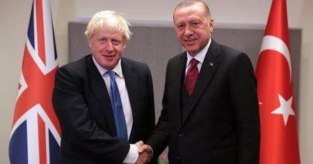 Cumhurbaşkanı Erdoğan'dan Boris Johnson'a mektup