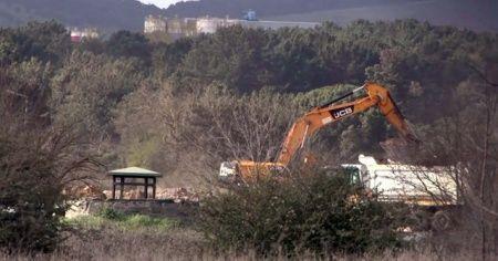 Cumhurbaşkanı Erdoğan'ın Sancaktepe'de yapılacağını duyurduğu hastanenin yapımı devam ediyor