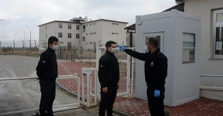 Eskişehir'deki cezaevlerinde virüs mücadelesi en üst seviyede