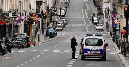 Fransa'da sokağa çıkma yasağına uymayan gence 2 ay hapis cezası
