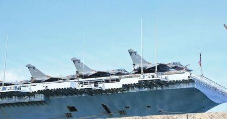 Fransa'nın Atlantik'teki uçak gemisinde Kovid-19 tespit edildi