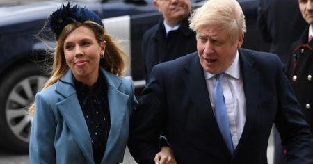 """İngiltere Başbakanı Johnson'ın hamile nişanlısı: """"Kovid-19 ile hamile olmak açıkça endişe verici"""""""