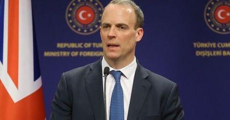 """İngiltere Dışişleri Bakanı Raab: """"Tüm planlar olduğu gibi devam edecek"""""""