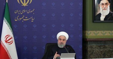 İran Cumhurbaşkanı Ruhani: Yüksek risk bulunmayan işletmeler faaliyetlerine başlayabilecek