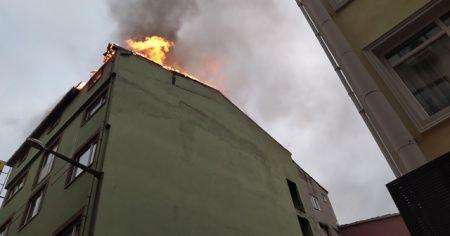 İş hanında çıkan yangında 1 kişi öldü