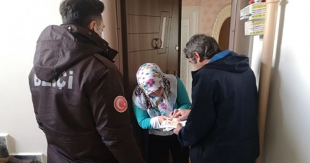 İstanbul'da 45 bin kişiye 'adrese teslim' sosyal yardım ödemesi yapıldı