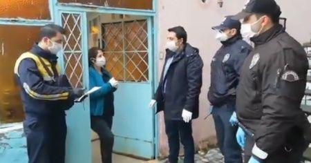 İstanbul'da bin TL sosyal yardım, evlerde teslim edilmeye başlandı