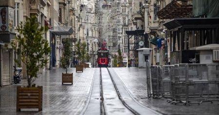 İstanbul'da sokağa çıkma oranı düştü