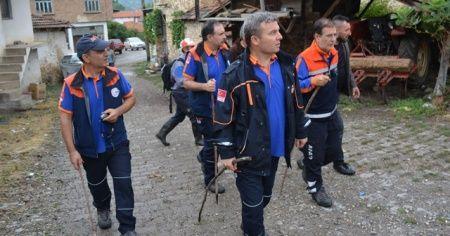 Jandarma ekipleri 8 ay sonra yaşlı kadının cesedini buldu
