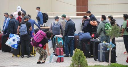 Katar'dan getirilen 166 kişi Kırıkkale'de karantinaya alındı