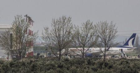 KKTC'deki 190 Türk öğrenci Balıkesir'e uçakla getirildi