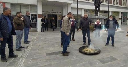 Korona virüse karşı tütsü yaktılar
