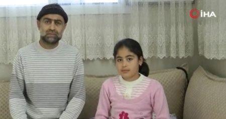 Küçük kız maganda kurşunuyla yaralandı