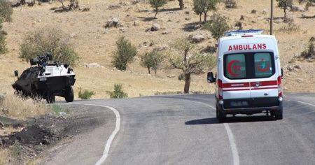 PKK'lı teröristler işçilere saldırdı: 1 şehit
