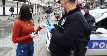 Polisten 20 yaş altı ve 65 yaş üstündekilere uygulama