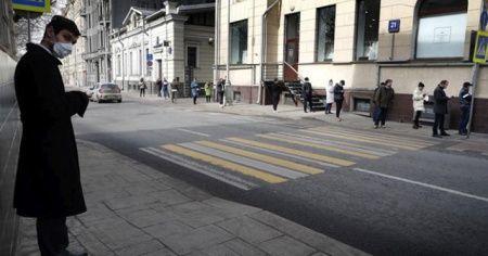 Rusya'da korona virüs vakalarında rekor artış
