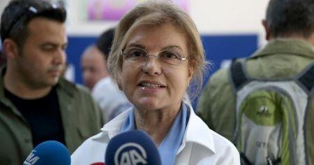 Tansu Çiller 'Biz Bize Yeteriz Türkiyem' kampanyasına 100 bin lira bağışta bulundu