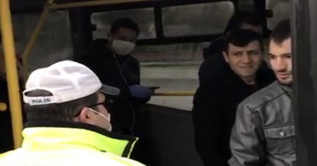 Toplu taşımada yasağa uymayan sürücülere ceza yağdı