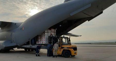 Türkiye'den İtalya ve İspanya'ya yardım malzemesi