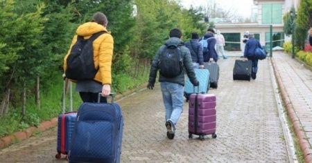 Ukrayna'dan gelen 103 kişi Sakarya'da karantina altına alındı