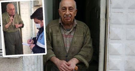 Zabıtaya hitabıyla duygulandırmıştı: Burhan amcadan iyi haber