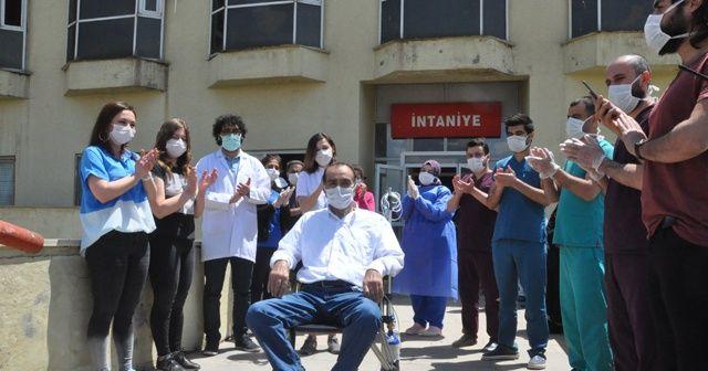 48 gündür korona virüs tedavisi gören hasta taburcu edildi