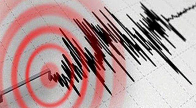 Akdeniz'de 5,6 büyüklüğünde deprem oldu