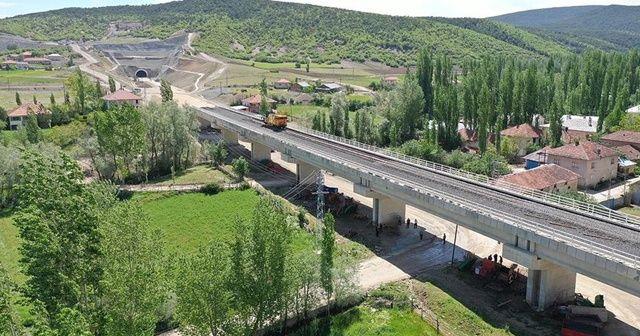 Ankara-Sivas YHT hattında sona doğru
