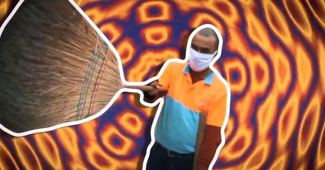 Antalyalı temizlik işçisi fenomen oldu, belediye özel klip çekti