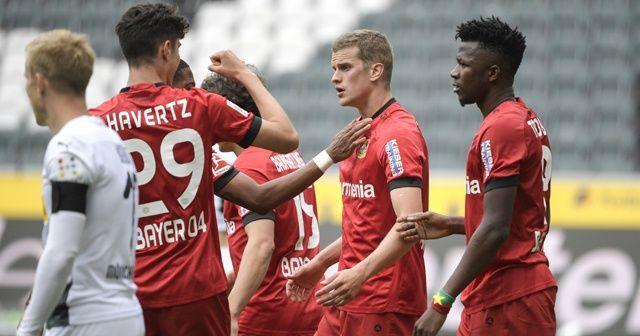 B.Leverkusen, Mönchengladbach'ı deplasmanda yendi