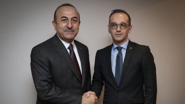 Bakan Çavuşoğlu, Almanya Dışişleri Bakanı Heiko Maas ile görüştü