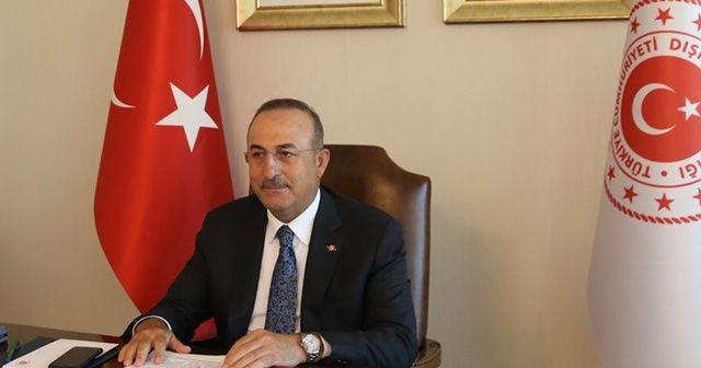 Bakan Çavuşoğlu: Almanya, Fransa ve İngiltere ile 4'lü toplantı yaptık