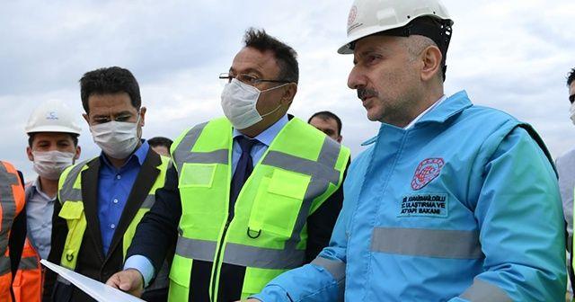 """Bakan Karaismailoğlu: """"Ankara-Sivas YHT hattını 2020 yılı içerisinde hizmete almayı planlıyoruz"""""""