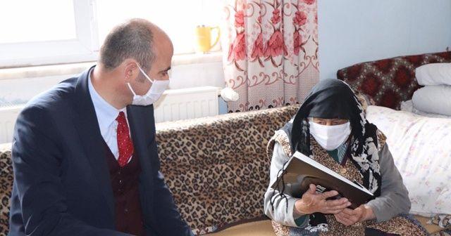 Bakan Soylu'dan 102 yaşındaki kadına Anneler Günü sürprizi