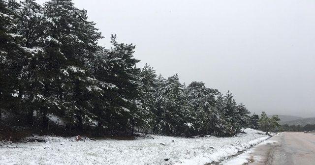 Başkent'te kar sürprizi