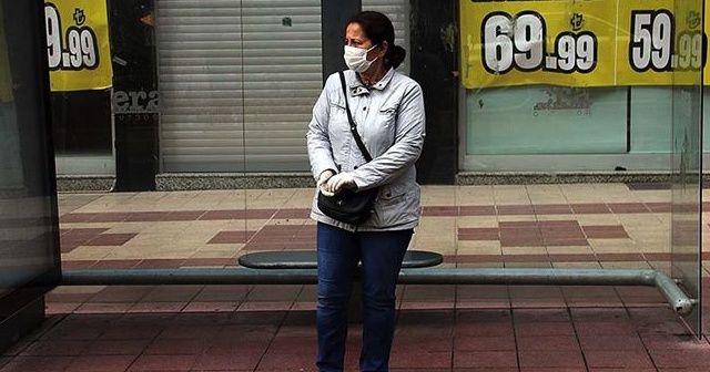Bir ilde sokağa çıkarken maske takmak zorunlu hale getirildi