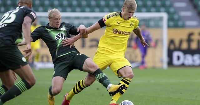 Dortmund, deplasmanda Wolfsburg'u 2 golle geçti