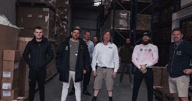 Conor McGregor'dan sağlık çalışanlarına ziyaret
