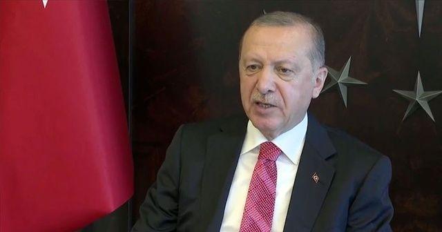Cumhurbaşkanı Erdoğan: Koronavirüsün kökü kazınmadığı müddetçe teyakkuz halinde bulunmayı sürdürmemiz şarttır
