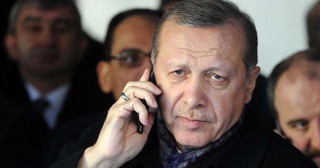 Cumhurbaşkanı Erdoğan, Özbekistan Cumhurbaşkanı Mirziyoyev'le telefonda görüştü