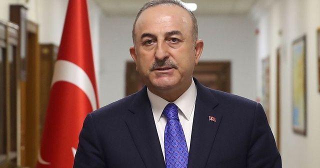 Dışişleri Bakanı Çavuşoğlu'ndan Filistin'e destek mesajı