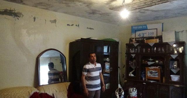Evlat nöbetindeki babanın evinin hali yürek sızlattı