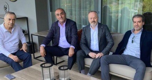 Galatasaraylı yöneticiler Başkan Cengiz'i unutmadı