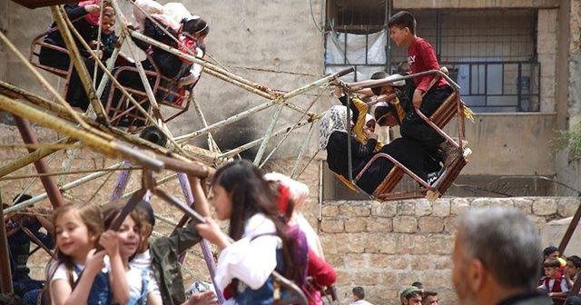 İdlib'de çocuklar bayramı ateşkes ortamında geçiriyor