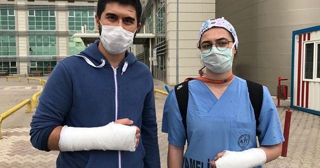 İki doktor tekme-tokat darp edildi