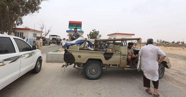 Libya ordusu Hafter milislerinin işgalindeki bölgelerde ilerliyor