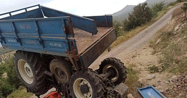 Mersin'de 2 traktör kazası: 1 ölü, 2 yaralı