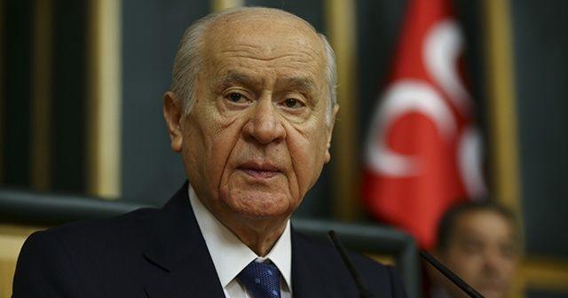 """MHP Lideri Bahçeli'den """"Fetih"""" mesajı"""