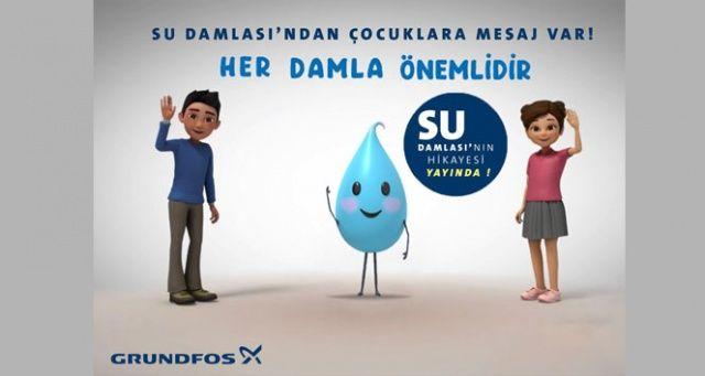 Özge Özpirinçci, çocuklara su tasarrufunun önemini animasyon ile anlattı