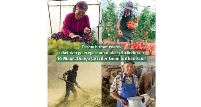 TARSİM: 'Çiftçilerimizin günü kutlu olsun'